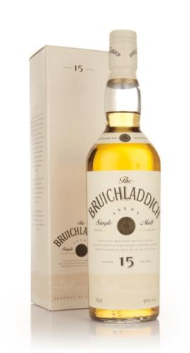 Bruichladdich 15 Year Old (Bot. 1990s) Single Malt Scotch Whisky