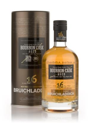 Bruichladdich 16 Year Old Bourbon Cask  Single Malt Scotch Whisky