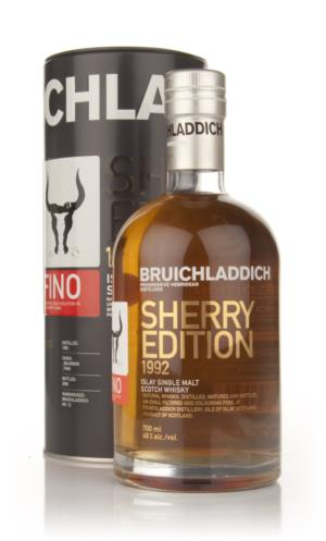 Bruichladdich 1992 17 Year Old Fino Sherry Single Malt Scotch Whisky