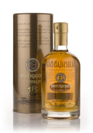 Bruichladdich 18 Year Old 2nd Edition Single Malt Scotch Whisky