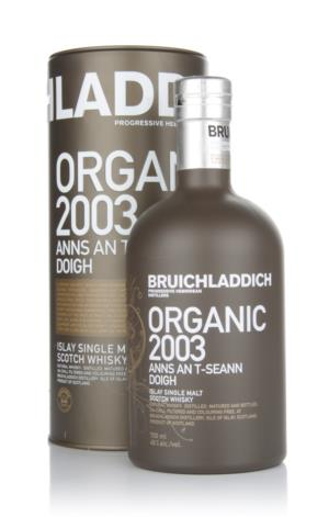 Bruichladdich Organic 2003 Anns An TSeann Doigh Single Malt Scotch Whisky