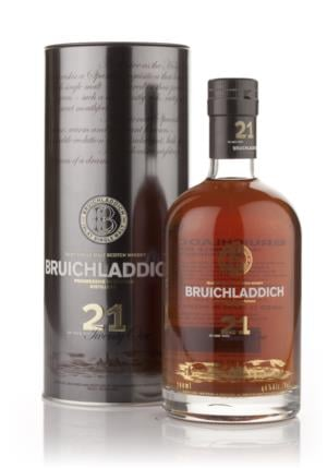 Bruichladdich 21 Year Old Oloroso Sherry Single Malt Scotch Whisky