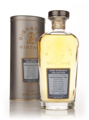 Bunnahabhain 1997 12 Year Old Signatory Heavily Peated Single Malt Scotch Whisky