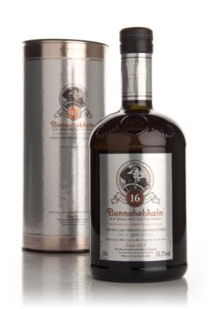 Bunnahabhain 16 Year Old (Manzanilla Wood Finish) Single Malt Scotch Whisky
