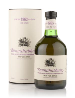 Bunnahabhain 1963 40 Year Old Single Malt Scotch Whisky
