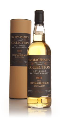 Bunnahabhain 1991 Macphails Collection Single Malt Scotch Whisky