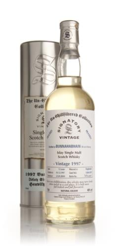 Bunnahabhain 1997  12 Year Old  Signatory Un-Chillfiltered Single Malt Scotch Whisky