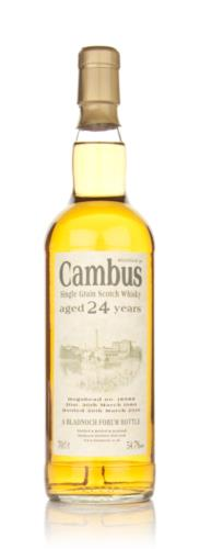 Cambus 24 Year Old 1986 Cask 18988 (Bladnoch)
