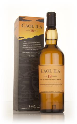 Caol Ila 18 Year Old Single Malt Scotch Whisky