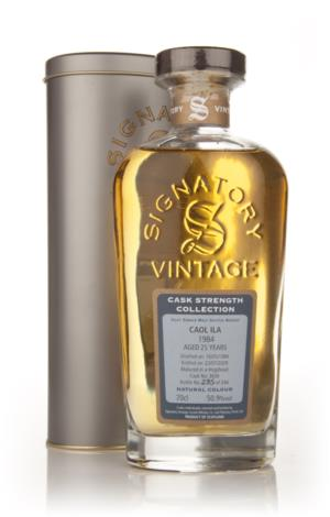 Caol Ila 1984 25 Year Old Signatory