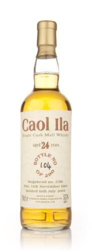 Caol Ila 1984  24 Year Old Bladnoch (Cask 5381) Single Malt Scotch Whisky