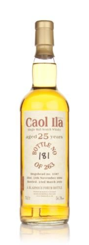Caol Ila 1984  25 Year Old Bladnoch (Cask 5387)  Single Malt Scotch Whisky