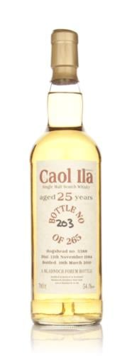 Caol Ila 1984  25 Year Old Bladnoch (Cask 5388)  Single Malt Scotch Whisky