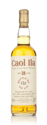 Caol Ila 1980  28 Year Old Bladnoch (Cask 8154) Single Malt Scotch Whisky