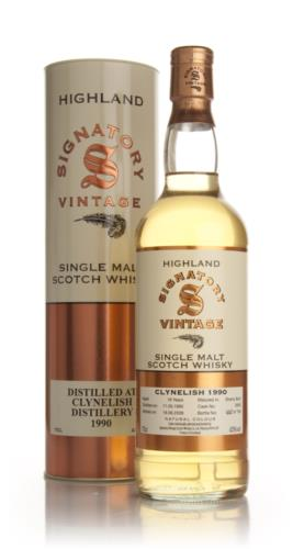 Clynelish 1990  19 Year Old  Signatory Single Malt Scotch Whisky