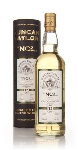 Cragganmore 1997  12 Year Old  Duncan Taylor NC2 Single Malt Scotch Whisky