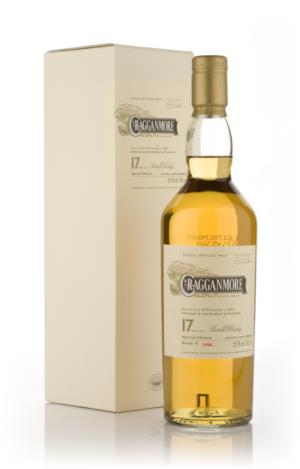 Cragganmore 17 Year Old Single Malt Scotch Whisky