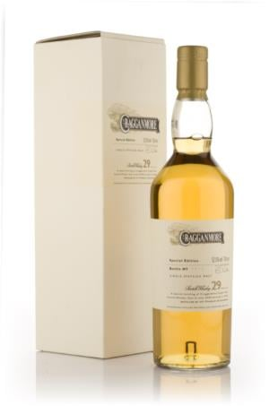 Cragganmore 29 Year Old Single Malt Scotch Whisky