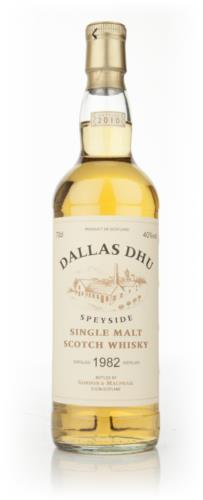 Dallas Dhu 1982 Gordon and MacPhail Single Malt Scotch Whisky