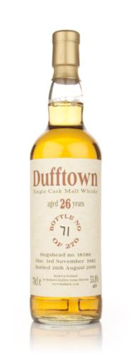 Dufftown 1982  26 Year Old Bladnoch Single Malt Scotch Whisky