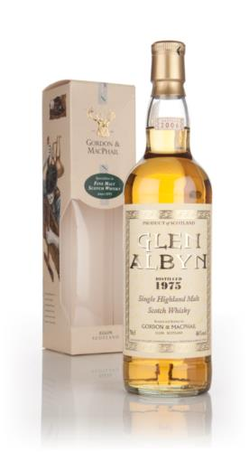 Glen Albyn 1975 Gordon & MacPhail Single Malt Scotch Whisky