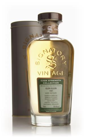 Glen Elgin 1991  16 Year Old Signatory