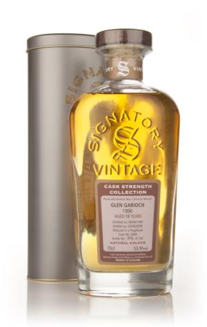 Glen Garioch 1990 18 Year Old Signatory