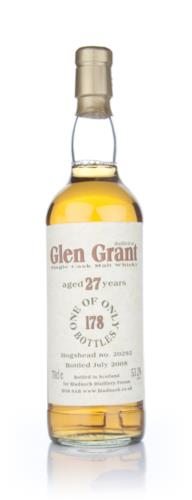 Glen Grant 27 Year Old Bladnoch Single Malt Scotch Whisky
