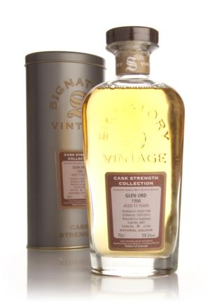 Glen Ord 1998  11 Year Old Signatory Cask Strength Collection Single Malt Scotch Whisky
