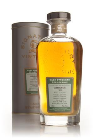 Glenburgie 1983  25 Year Old Signatory Cask Strength Single Malt Scotch Whisky