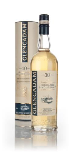 Glencadam 10 Year Old Single Malt Scotch Whisky