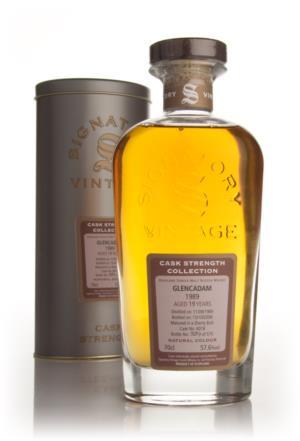 Glencadam 1989 19 Year Old Signatory (Cask 6018) Single Malt Scotch Whisky