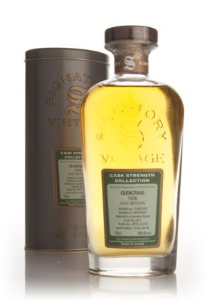 Glencraig 1976 30 Year Old Signatory Cask Strength Collection