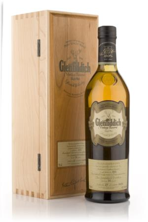 Glenfiddich 1972 33 Year Old Vintage Reserve Single Malt Scotch Whisky