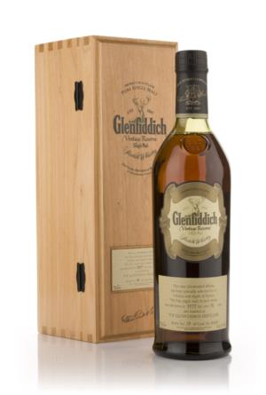 Glenfiddich 1977 31 Year Old Vintage Reserve Single Malt Scotch Whisky