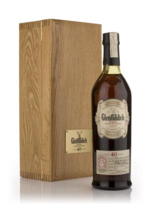 Glenfiddich 40 Year Old Rare Collection Single Malt Scotch Whisky