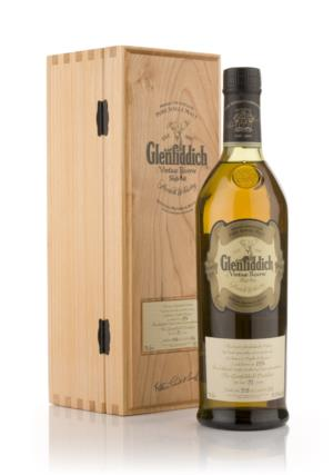 Glenfiddich 1976 31 Year Old Vintage Reserve Single Malt Scotch Whisky