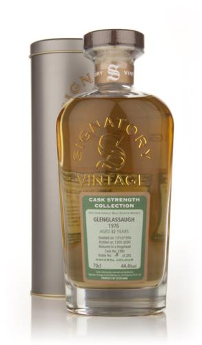 Glenglassaugh 1976 32 Year Old Signatory Single Malt Scotch Whisky