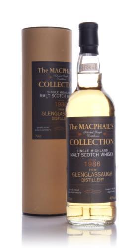 Glenglassaugh 1986 Gordon & MacPhail Single Malt Scotch Whisky