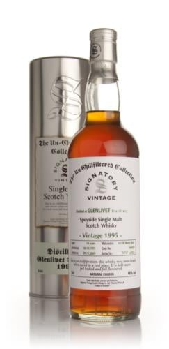 Glenlivet 1995 14 Year Old Signatory Single Malt Scotch Whisky