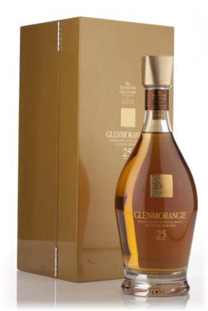 Glenmorangie 25 Year Old Quarter Century Single Malt Scotch Whisky