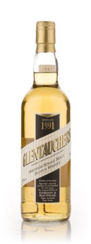 Glentauchers 1991 16 Year Old Gordon & MacPhail Single Malt Scotch Whisky
