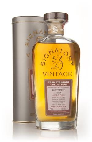 Glenturret 29 Year Old 1979 Signatory Cask Strength Collection Single Malt Scotch Whisky