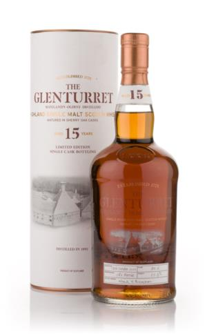 Glenturret 1991 15 Year Old Single Malt Scotch Whisky