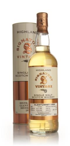 Glenturret 1992 16 Year Old Signatory Single Malt Scotch Whisky