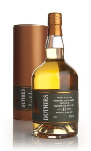 Highland Park 17 Year Old - Duthies (WM Cadenhead)