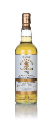 Highland Park 22 Year Old 1987 (Signatory)