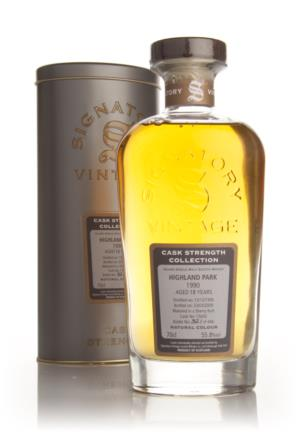 Highland Park 18 Year 1990 - Cask Strength Collection (Signatory)