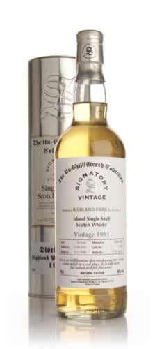 Highland Park 18 Year Old 1991 - Un-Chillfiltered (Signatory)