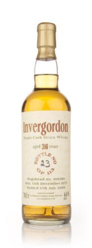 Invergordon 36 Year Old Cask 106580 (Bladnoch)